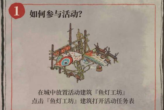 江南百景图新春灯会玩法攻略 鱼灯工坊领取方法详解