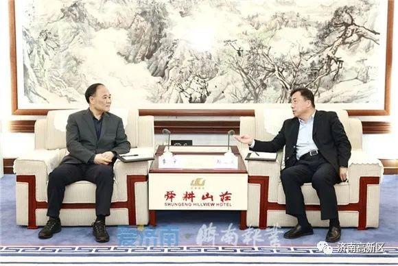 孙立成孙述涛会见吉利控股集团董事长李书福,交流探索新的合作领域