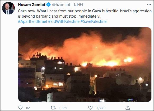 以色列军方:地面和空中部队已开始进攻但尚未越境
