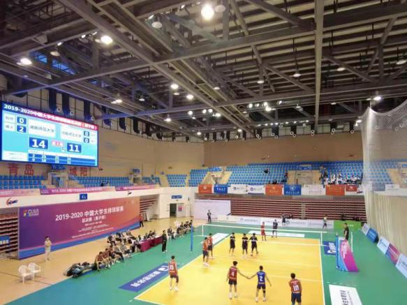 中国大学生排球联赛(CUVA)总决赛 (男子组)在青岛城阳区开赛