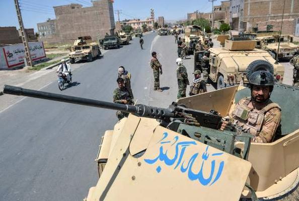 阿富汗安全部队在多省采取行动,共打死131名塔利班成员。图片来源:视觉中国