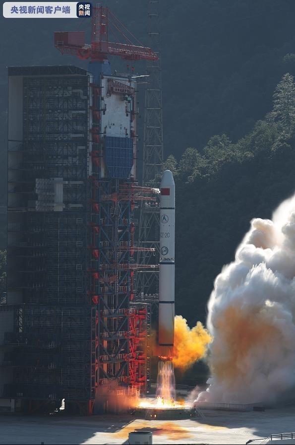 中国成功发射遥感三十号10组卫星 发射成功率100%