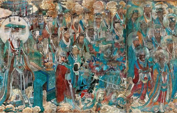 历经七百多年的永乐宫壁画何以鲜艳悦目?