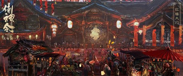神仙班底打造《侍神令》新奇幻世界 恢弘精美晴明庭院震惊陈坤