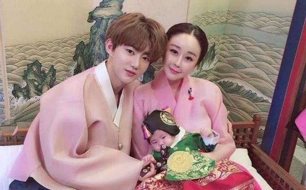 韩国女星咸素媛与小18岁中国老公陈华复合后发文:会努力生活