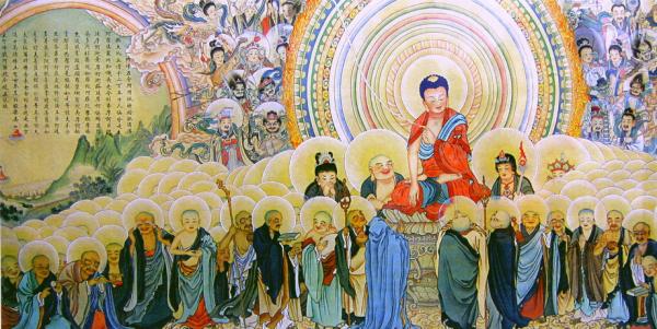 《阿弥陀经》是净土三部经结归的经典