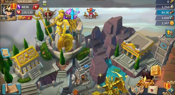 在王国纪元里重燃小宇宙,守护你的雅典娜!