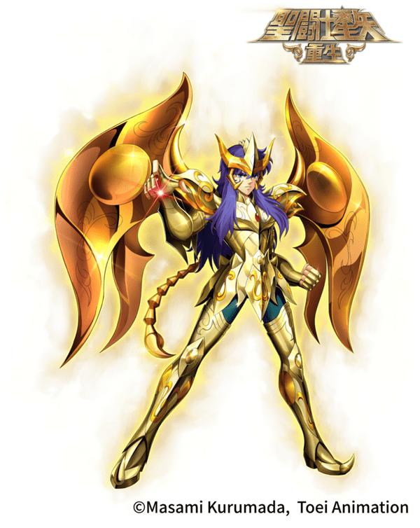 圣斗士星矢:重生联动 撒加&米罗展现神圣衣之力