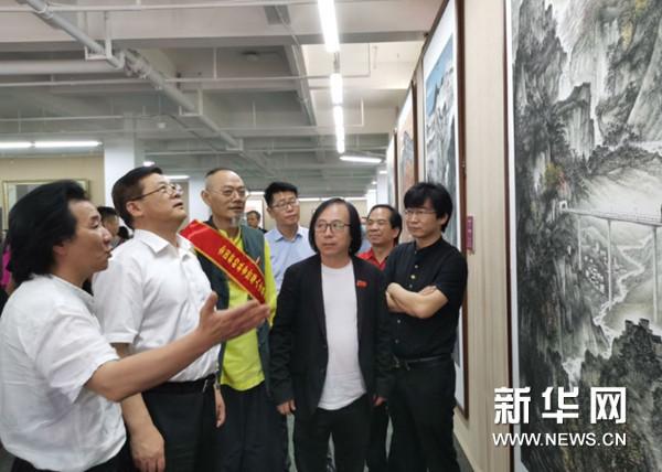 全国新文艺群体百名美术家作品展在京开幕 将持续至6月17日