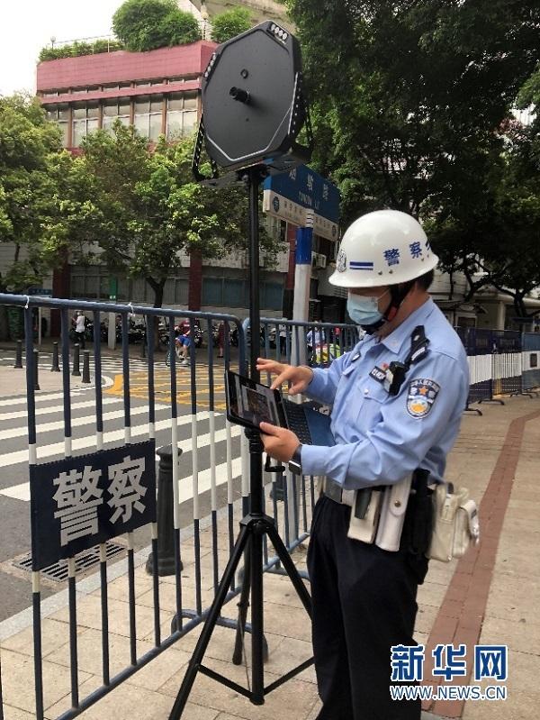 广州交警投入超30架无人机助力交通管理 深入推进无人机交通应用