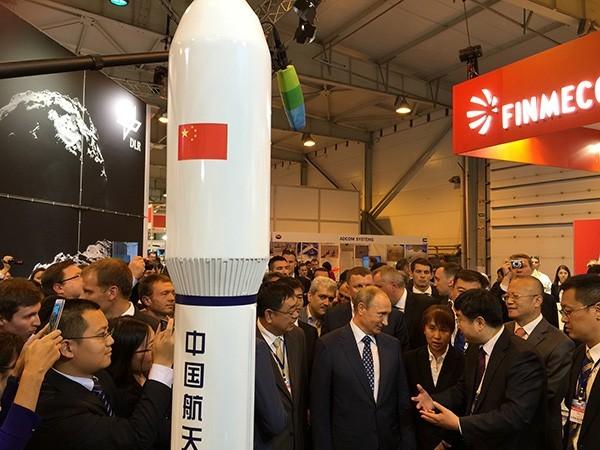 美媒:太空成为中俄关系升温的自然延伸