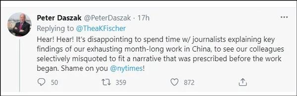 """被骂""""无耻""""后 《纽约时报》终于公布世卫专家采访实录"""
