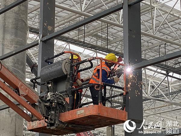 【樱花又开放——疫后重振看湖北】 鄂州构建多式联运体系 打造全国物流枢纽城市