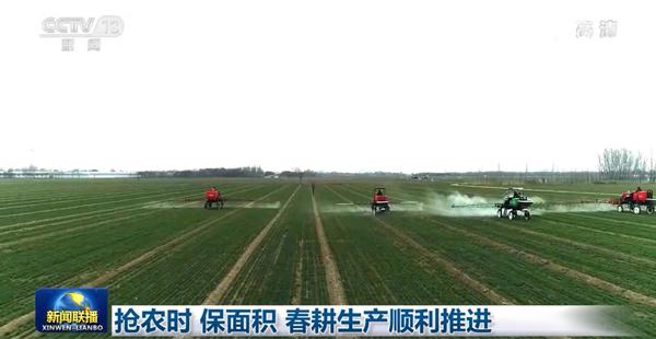 抢农时 保面积 春耕生产顺利推进