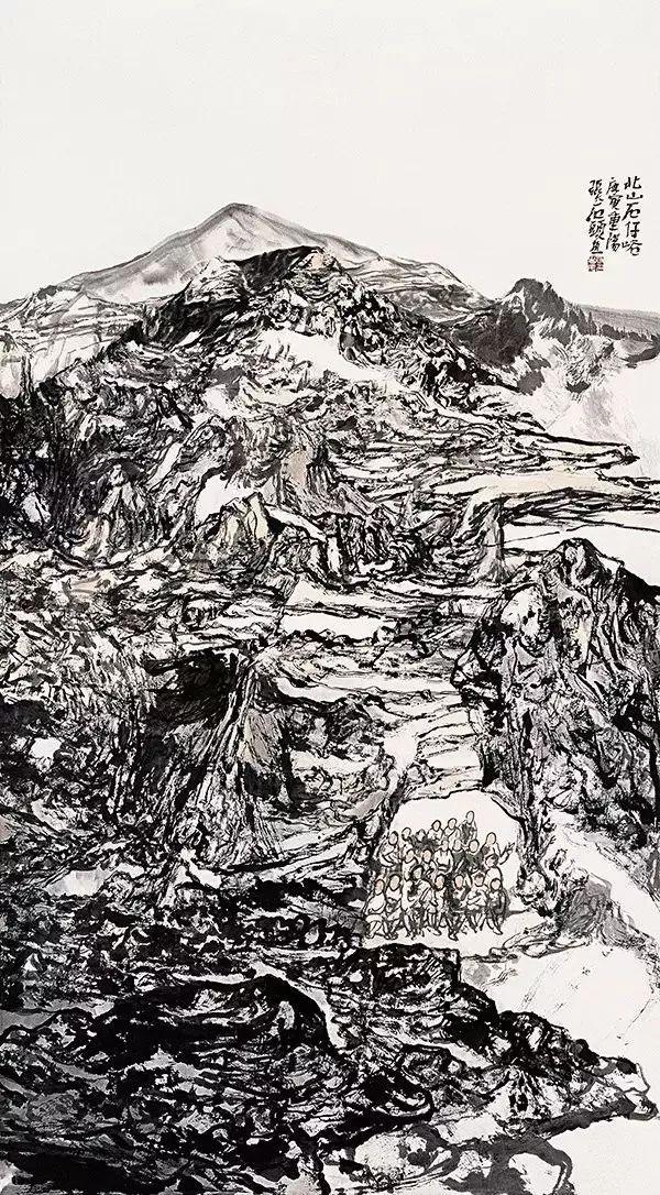 青年画家刘明山水画访谈(上):为艺求学之路