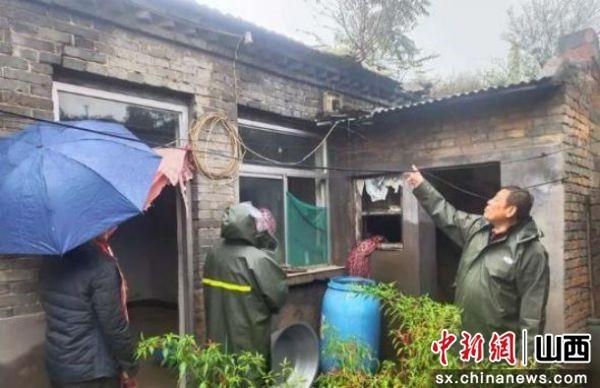"""山西灵石:县城区强化""""三力""""全身心投入汛情防范和灾后重建工作"""