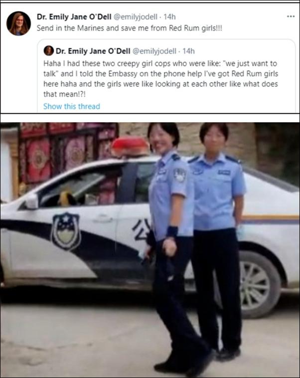不满防疫政策,女外教造谣抹黑中国被处限期出境