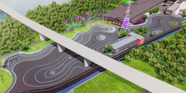 北京冬奥公园42公里马拉松路线基本建成:沿途六大景观节点