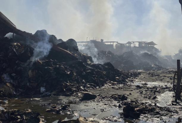 美国凤凰城发生大火
