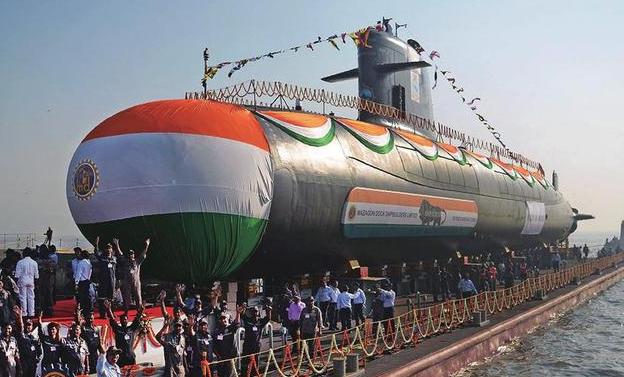 对抗中国?印度招标采购6艘新型潜艇
