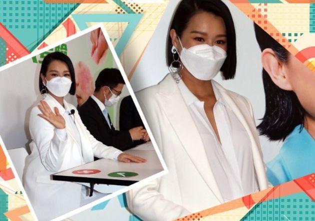 胡杏儿曝肚中宝宝现重为4.5斤 有机会将回TVB拍剧