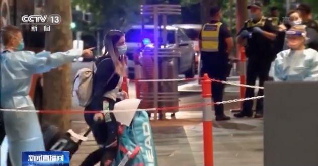 包机发现4名确诊病例 47名澳网选手强制隔离
