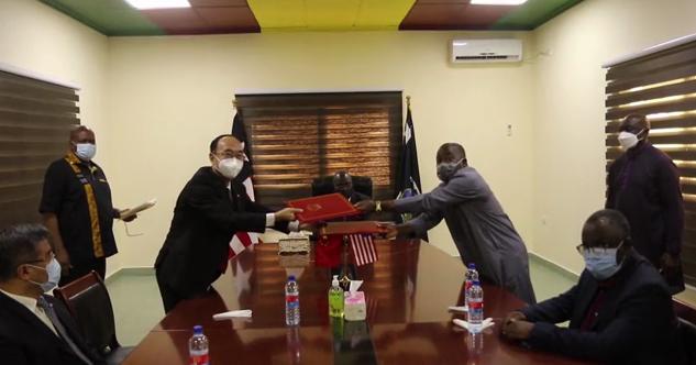 中国向利比里亚援助抗疫物资