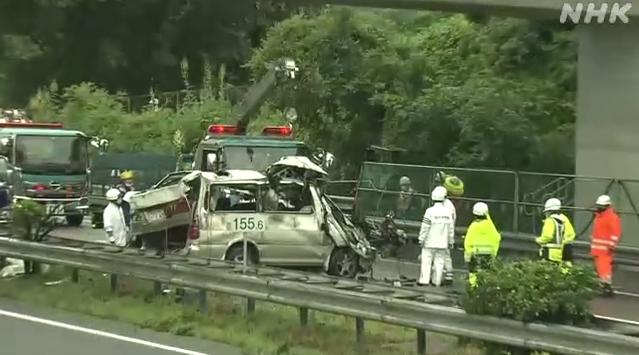 日本栃木县发生严重车祸 已致2人死亡4人受伤