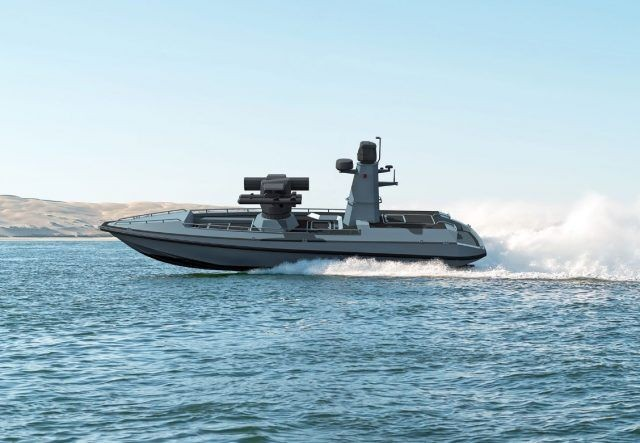 土耳其海军测试首艘无人水面战斗舰艇