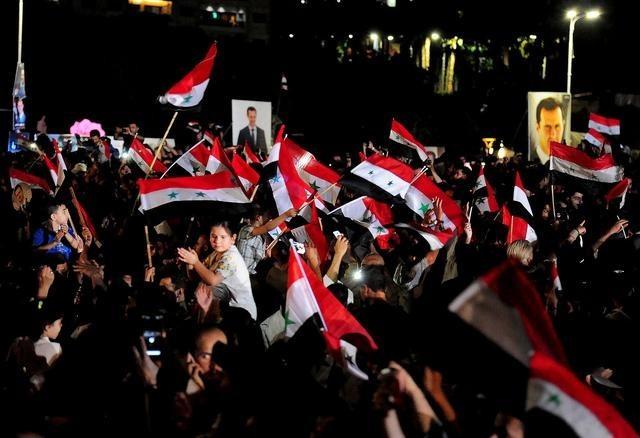 巴沙尔宣誓就任叙利亚总统