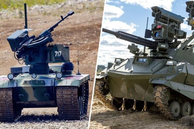 从内雷赫特机器人的首次亮相见智能化战争新模式