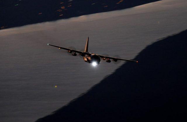 美军AC-130J空中炮艇机 资料图