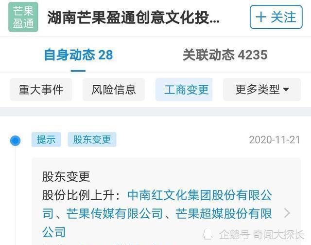 汪涵何炅谢娜退出芒果关联公司,引发了网友们的各种舆论