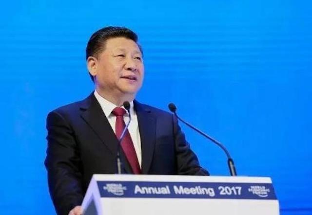 △2017年1月17日,国家主席习近平在瑞士达沃斯国际会议中心出席世界经济论坛2017年年会开幕式,并发表主旨演讲