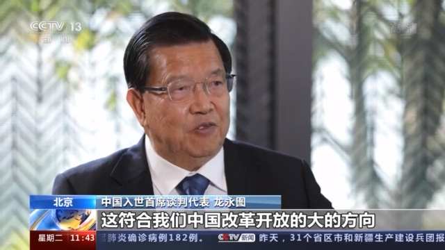 奋斗百年路 启航新征程丨加入世贸组织二十年 中国与世界深度融合