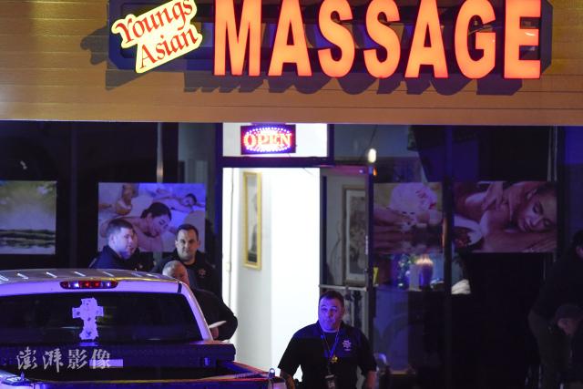 戒性瘾?美国警察帮枪杀亚裔女性的嫌犯开脱