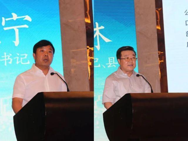 王晓宁(左)与王林 资料图