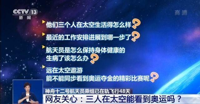 太空还有三个中国人,近况如何