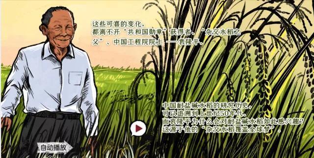 H5动态纪实长卷 | 稻子熟了