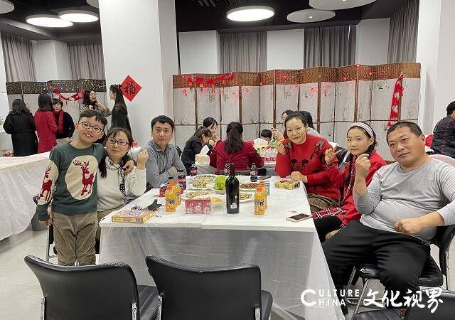 活动暖人心,春节暖洋洋——迪尚集团举办异地员工留威海过年联欢活动