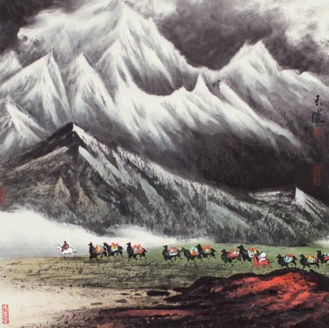 情境相因 物我交融——著名画家刘玉璞独辟蹊径展现自然山川之美