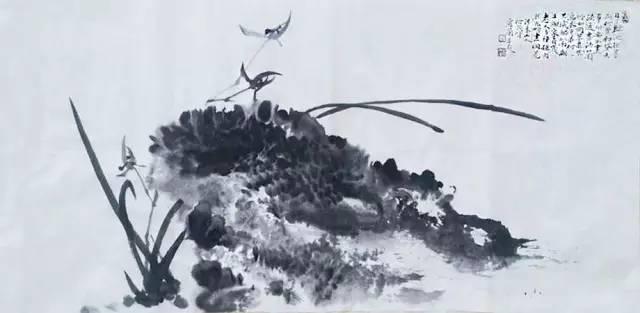 """兰香书韵交相辉映——著名书画家何茂峰""""以书入画""""展现兰石雅趣"""