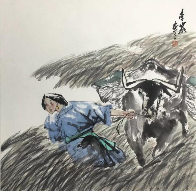"""意象清新  凝练厚重——著名画家李岩""""现实主义绘画""""风格解读"""