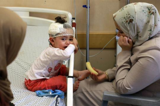 以军空袭已造成58名儿童丧生