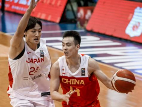 中国男篮亚预赛再胜日本队