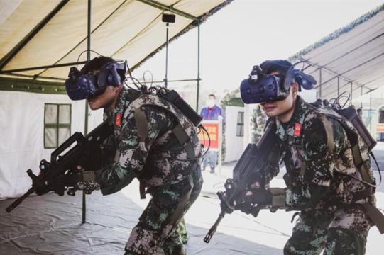 高科技信息化武装到武警