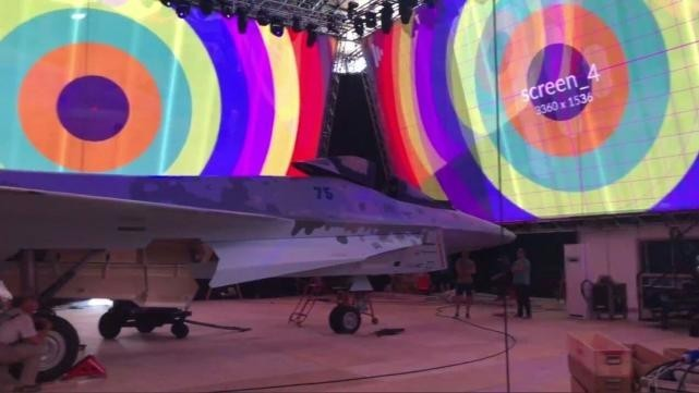 美媒:俄新亮相战机主要竞争对手是F-35A和歼-10C