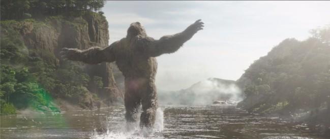 《哥斯拉大战金刚》巨兽苏醒片段 金刚本色出演