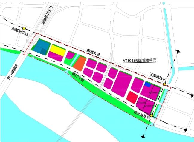 广州国际金融城东区地块控制性详细规划修正公示 配套建演艺中心等设施