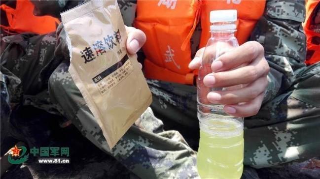 解放军的军用食品